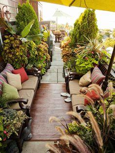 plate-forme de patio