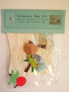 Make your own treasure map by knittedswimsuit on Etsy, £3.00