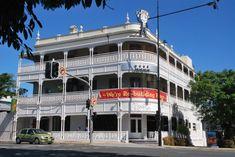 Regatta Hotel in Brisbane, had a FEW wines here..great pub near the brisbane river.Queensland Australia