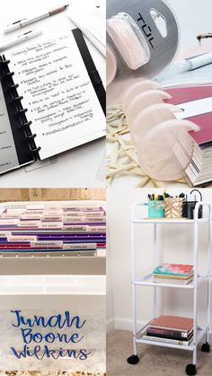Office Organization Tips, Clutter Organization, Household Organization, Paper Organization, Kindergarten, Craft Room Storage, Organizing Your Home, Getting Organized, Space