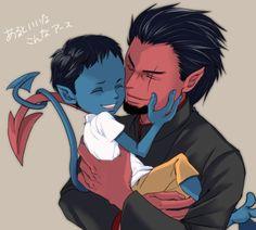 Azazel | Azazel and Kurt - azazel from x-men Fan Art (26409985) - Fanpop ...