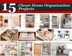 15 Clever Home Organization Projects