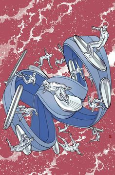 Silver Surfer by Mike Allred