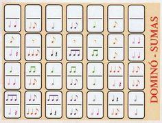 MUSIQUINO (Educación Musical Infantil y Primaria): primaria (dominó musical)