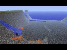 Minecraft MEGA HUGE NUKE CITY CRATER HD - YouTube