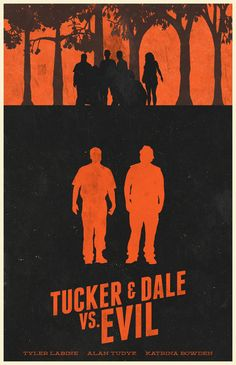 MSCE Day 138 - Tucker And Dale VS. Evil by ~billpyle (Love this movie) movies-television-books-illustration-design Best Movie Posters, Minimal Movie Posters, Movie Poster Art, Love Movie, Movie Tv, Tucker And Dale Vs Evil, Radios, Evil Art, Movies Worth Watching