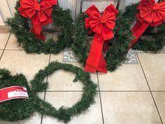 Help out old wreaths