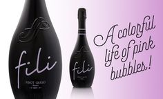 A colourful life of pink bubbles! Fili Pinot Grigio Ramato spumante brut
