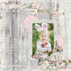 """""""Eastertime"""" Layout By Cindy Rohrbough"""