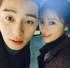 She Was Pretty | Hwang Jung Eum and Park Seo Joon Show off Their Dazzling Chemistry in New Photo