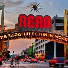 Reno Arch. Photo by: @mycitygram