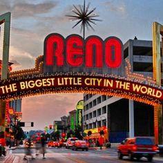 Reno Arch. Photo by: @mycitygram