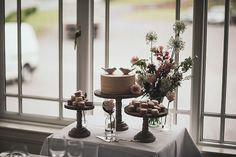 Wedding Cake Table at Gougane Barra Hotel, Gougane Barra, West Cork, Ireland