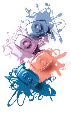Pretty pastels remind us a flower garden! #ThinkSpring