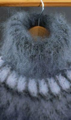 Mohair Sweater, Turtleneck, Crochet Earrings, Women's Fashion, Colour, Knitting, Sweaters, Beautiful, Wool