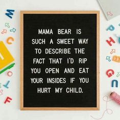 Mama Bear lol #mamabear