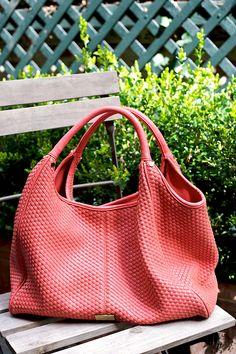 A cruelty-free handbag by Cornelia Guest...