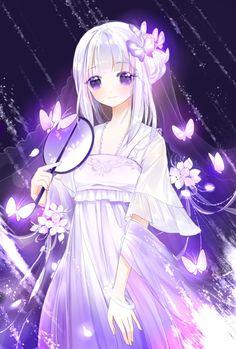 922 images about Manga e Anime on We Heart It Anime Angel Girl, Manga Anime Girl, Girls Anime, Cool Anime Girl, Pretty Anime Girl, Anime Girl Drawings, Cute Anime Pics, Beautiful Anime Girl, Kawaii Anime Girl