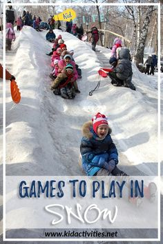 Thinking of more games to play outside in the snow with your kids? We've got you covered. You can try these outdoor snow activities with the kids.