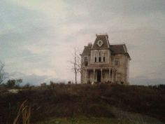 """m-e-ghan: """" Visited the house where Psycho was filmed when I was younger. Found this today in one of our photo albums. Old Buildings, Abandoned Buildings, Abandoned Places, Coraline, Skulduggery Pleasant, Peregrine's Home For Peculiars, Art Nouveau, Miss Peregrines Home For Peculiar, Home For Peculiar Children"""