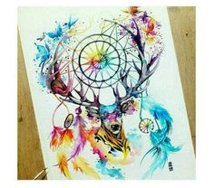 Dope dream catcher tattoo