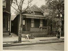 Historical photos from Detroit's Black Bottom neighborhood