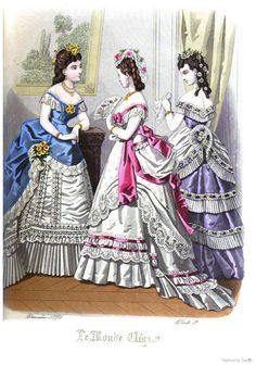 Le Monde Elégant 1871 December