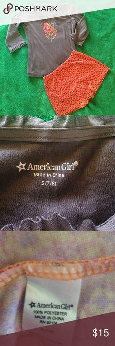 Sale🌟American Girl Pajamas Girls American Girl Pajamas size 7/8 in very good condition. American Girl Pajamas Pajama Sets