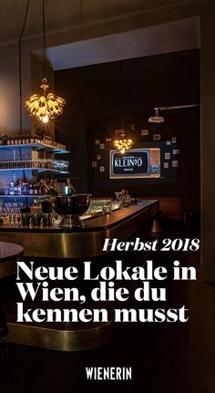 Wir zeigen, welche Lokalneuheiten du jetzt kennen musst. Innsbruck, Restaurant Bar, Hallstatt, Lokal, Cool Bars, New Life, Vacation Trips, Vienna, Austria