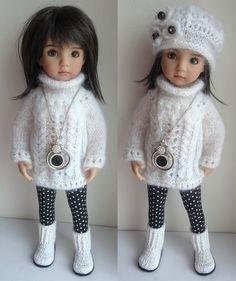 Зима, холода и красота / Коллекционные куклы Дианны Эффнер, Dianna Effner / Бэйбики. Куклы фото. Одежда для кукол