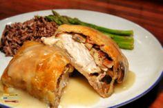 chicken (and bacon) wellington