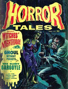 Horror Tales - Vol.2 #2 (Eerie Publications, 1970)