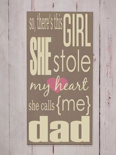 She Stole My Heart  Wooden Sign  Typography Word by vinylcrafts, $55.00