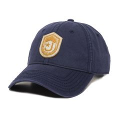 Homeland Tees Mens Florida Leather Patch Cotton Twill Hat