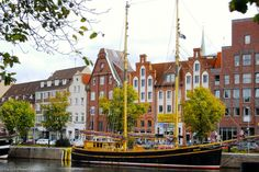 Lübeck Museum Harbor jigsaw puzzle in Street View puzzles on…