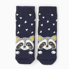 Raccoon Baby Socks f