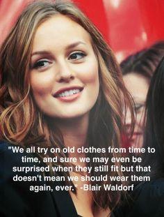 Blair Waldorf quotes on Gossip Girl #leighton_meester #preach #xoxo
