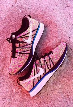 599a145e4571 Nike Flyknit Trainer  Multi Colorful Nike Shoes