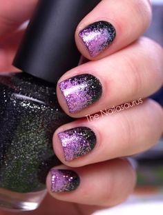 Nail art #sparkles