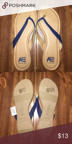 Denim sandals Denim sandals. NWT American Eagle by Payless Shoes Sandals