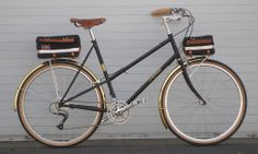 Gold and Black Perfection: Rivendell Bicycle Works, Yves Gomez