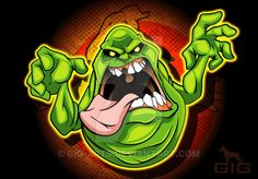 Slimer by GIG-Arts on DeviantArt