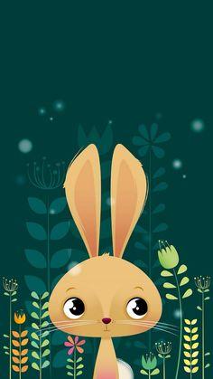Imagen de cartoon, cute, and rabbit