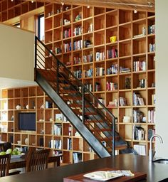 I want this library. How much fun to fill it!