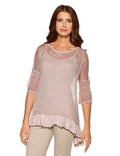 Heine - Shirttunika rosé im Heine Online-Shop kaufen