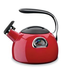 Take a look at this Red Perfectemp Teakettle by Cuisinart on #zulily today!  Deliver by Christmas. Refer a friend to Zulilly...you will earn $15.00 and so will your friend after 1st purchase!