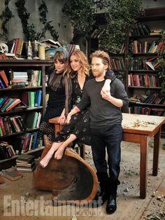 Amber Benson, Alyson Hannigan, and Seth Green