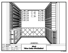 Wine Cellars - Check out this new uniquely designed custom wine cellar installed Memphis Tennessee Wine Cellar Design, Memphis Tennessee, Wine Cellars, Wine Storage, Illinois, Chicago, 3d, Drawing, Building