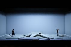 Die Walküre, Wagners three -act-opera is the second Part of the Ring Cycle. Performance at Staatstheater Karlsruhe in Set Theatre, Theater, Set Design Theatre, Theatre Stage, Stage Design, Bühnen Design, Media Design, Scenography Theatre, Visual Arts Center