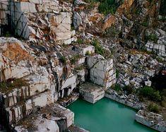 Vermont quarry photographs by Edward Burtynsky